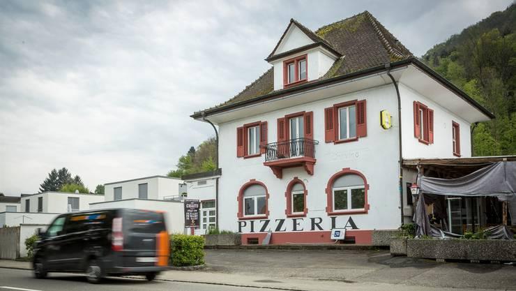 In dieser ehemaligen Pizzeria befindet sich die Gebenstorfer Moschee. Chris Iseli