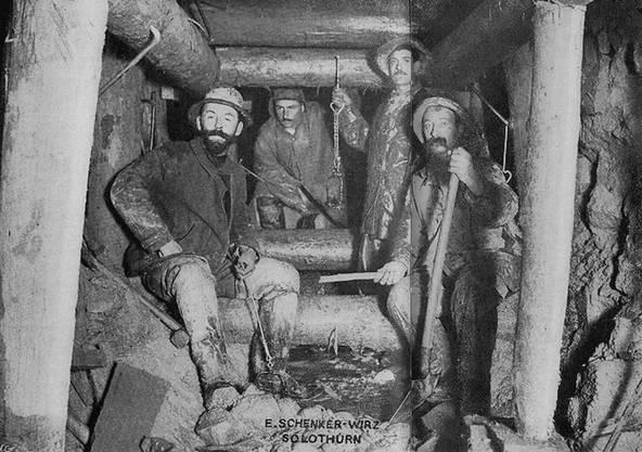 Auch damals importierte die Schweiz viele Italiener für den Bau des Tunnels.