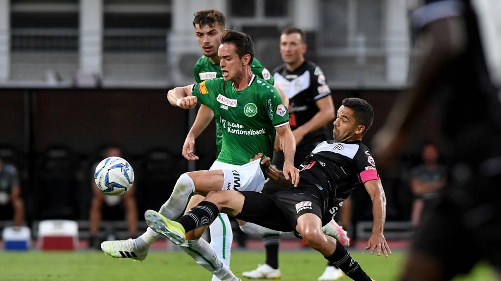 «Ein gewonnener Punkt» – FCSG und Lugano trennen sich 3:3