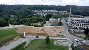 Am 31. August ist der Bunker Geschichte: Dieser Tage haben die Abbauarbeiten an der geschützten Operationsstätte begonnen. Fotos: ZVG