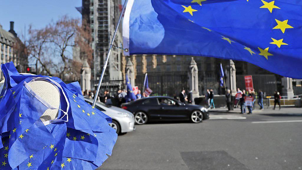 Grosses Thema in der Politik, die Bürger befürchten einer Umfrage zufolge aber kaum Auswirkungen für sich: der geplante Austritt von Grossbritannien aus der Europäischen Union. (Symbolbild)