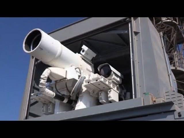 Die neue Laserwaffe der US Navy