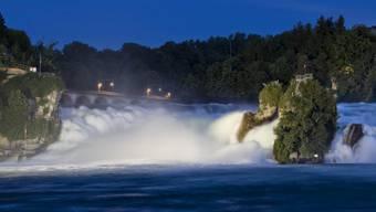 Wird der Rheinfall bald ein Rinnsal?