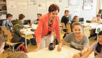 Ohne Bildungsrat werden Monica Gschwind und ihre Regierungskollegen entscheiden, was unterrichtet wird.