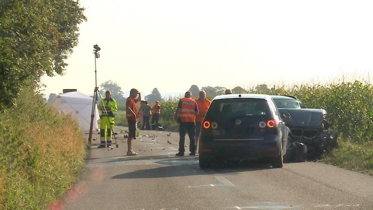 In Schnottwil kam es am Dienstagmorgen zu einem tödlichen Unfall.