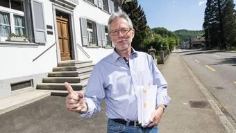 SVP-Landrat Peter Riebli brachte mit seiner Motion die Sozialhilfegesetz-Revision ins Rollen.