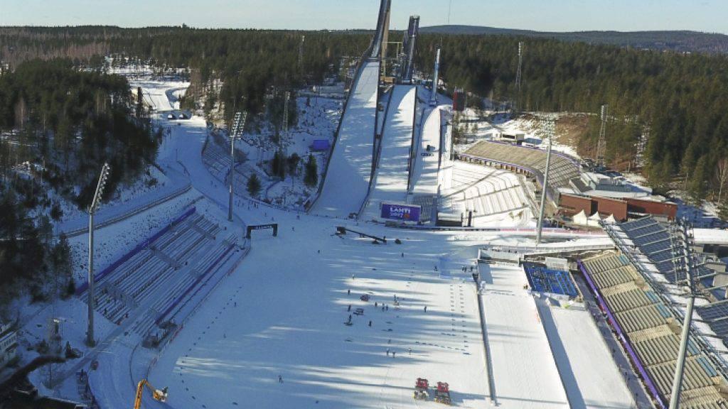 In Lahti finden wie 2001 die nordischen Ski-Weltmeisterschaften statt