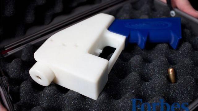 Waffe zum selber Ausdrucken: «Liberator»-Pistole. Foto: Defese distributed