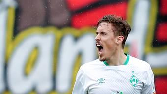 Bremens Captain Max Kruse zeigte in Leverkusen eine überragende Partie und führte sein Team zu einem 3:1-Sieg