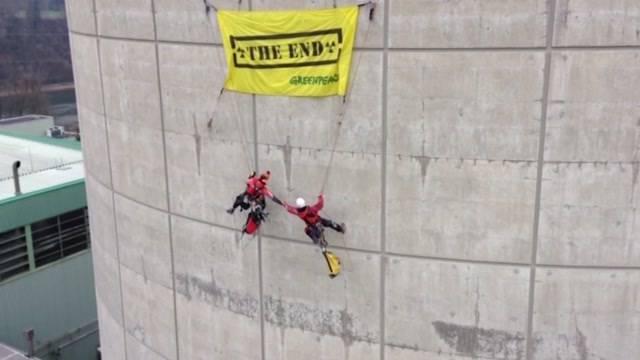 ENSI verzeigt Greenpeace