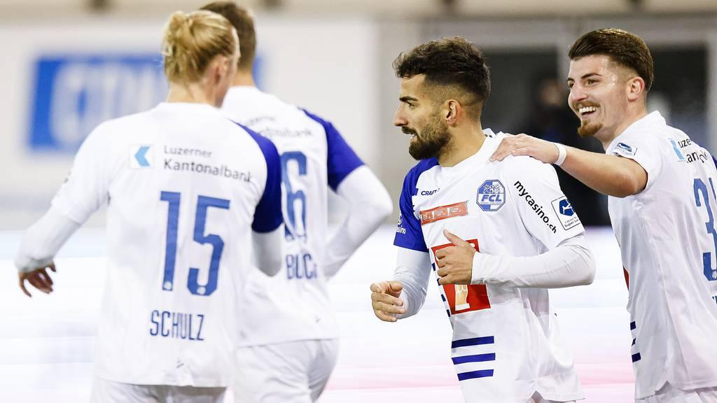 FC Luzern muss im Viertelfinal gegen FC Biel ran