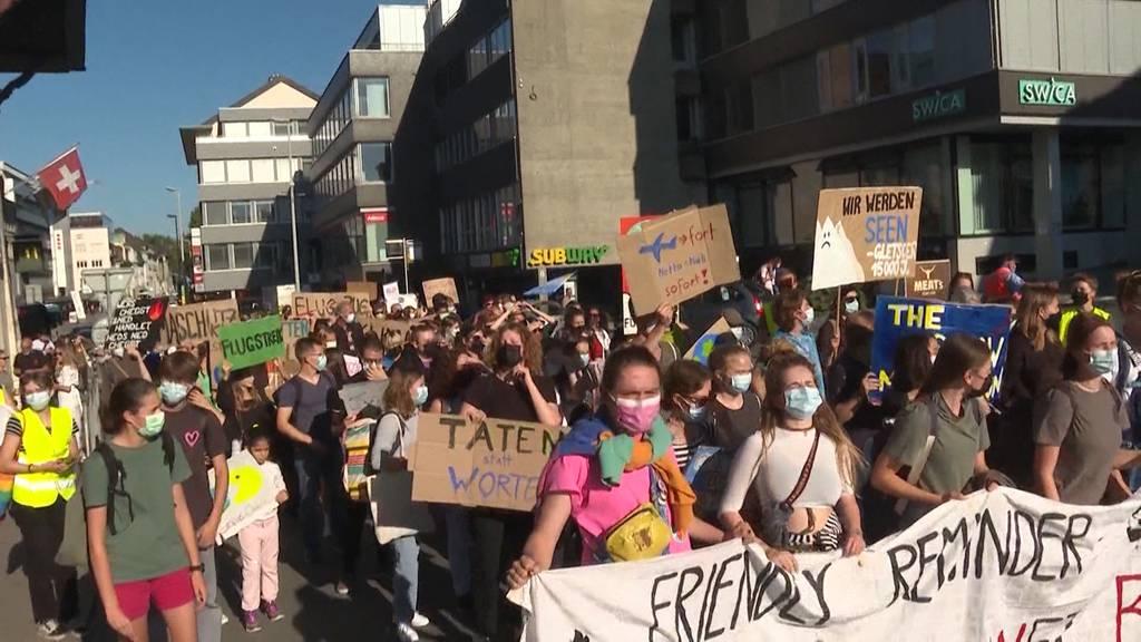 Aufmarsch: In Aarau kommt es am Abend zu einer Grossdemo für das Klima