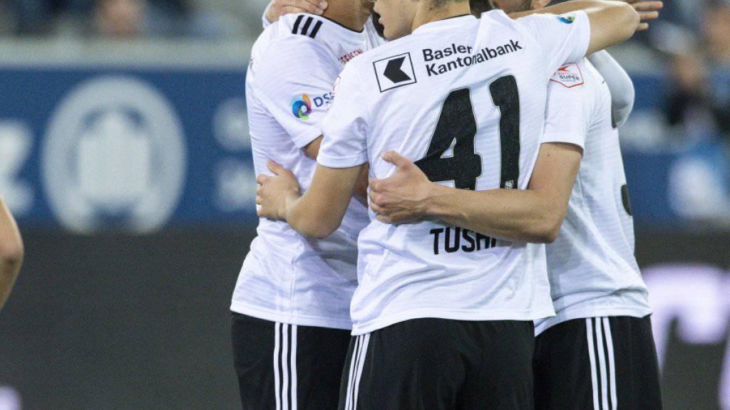 Der FC Basel gibt in Thun erneut den Spielverderber