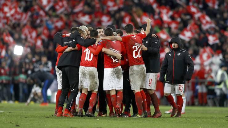 Die Schweiz fährt an die WM in Russland.