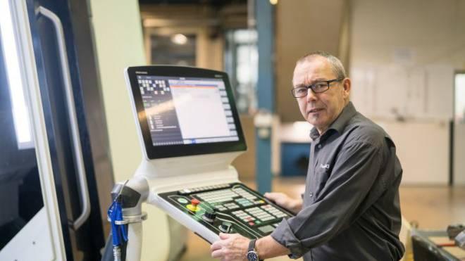 «Aber um eine Zukunft zu haben, müssen wir Gewinne schreiben»: Herbert Rutz, Eigentümer der Femec AG in Wetzikon ZH. Foto: Mario Heller