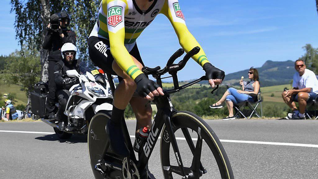 Der Australier Rohan Dennis ist der erste Leader in der diesjährigen Spanien-Rundfahrt