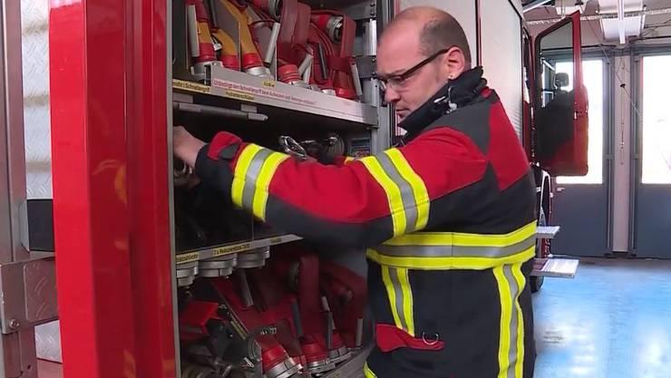 David Bürge ist neuer Feuerwehrkommandant.