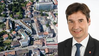 François Scheidegger und Stadt Grenchen