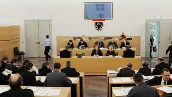 Will 30 Millionen in bauliche Massnahmen investieren: Der Stadtrat. (Archiv)