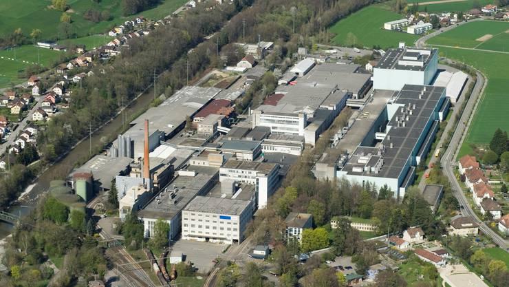 Die Ausstellung findet auf dem Areal der Papierfabrik Biberist statt.