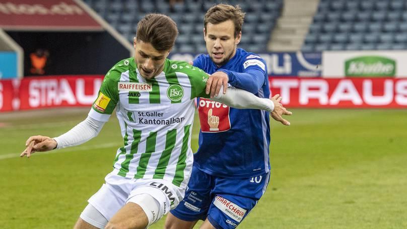 Luzern stoppt den Siegeszug des FC St.Gallen