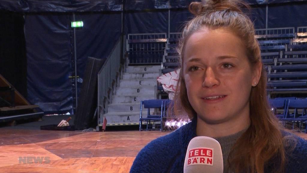 Circus Monti: Berner Oberländerin gibt Einblick in Artistinnen-Alltag