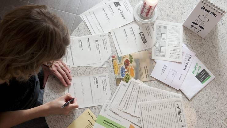 Der Versand von Wahlunterlagen ist komplex (im Bild Unterlagen der Nationalratswahlen 2011).
