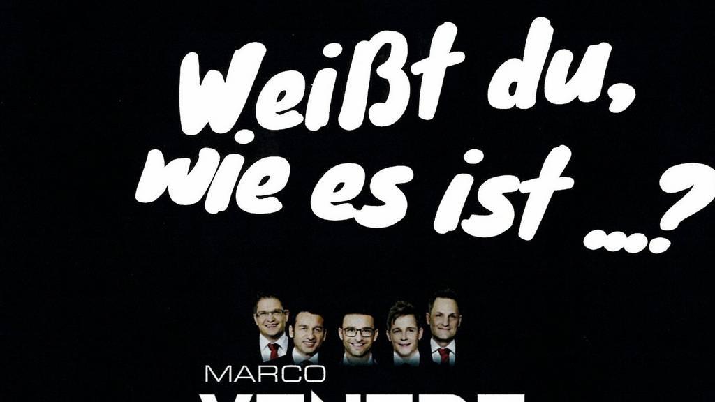 Marco Ventre & Band - Weisst du, wie es ist
