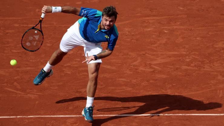 Beide hatten vor dem Spiel am French Open noch keinen Satz verloren.