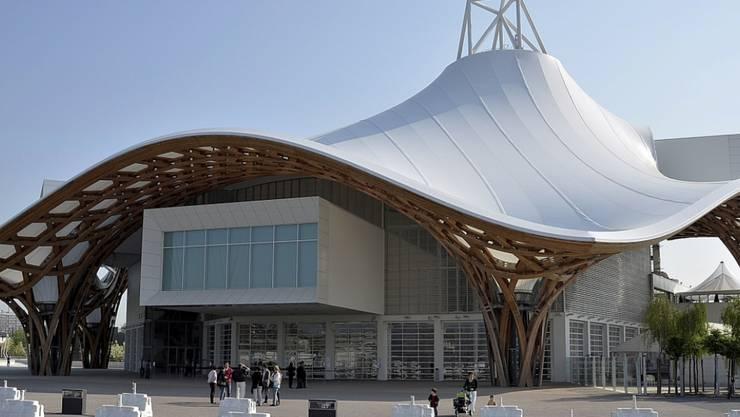 ARCHIV - Das Centre Pompidou in Metz öffnet ab 12. Juni wieder seine Türen. Foto: Jörg Fischer/dpa