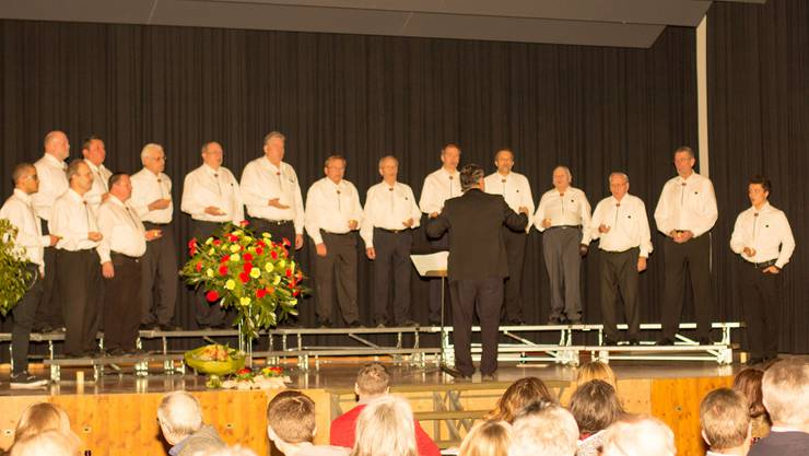 Gala Konzertabend Mägenwil mit dem Mägenwiler Männerchor Frohsinn