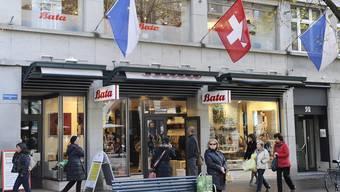 Das älteste Geschäft von Bata in der Schweiz in Zürich steht vor der Schliessung.