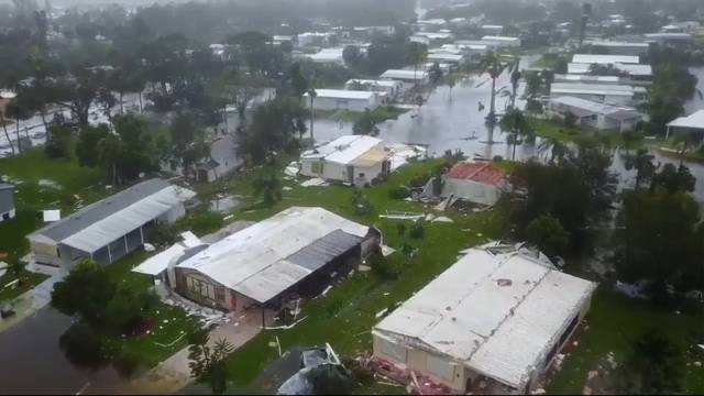 Das hat Hurrikan Irma angerichtet