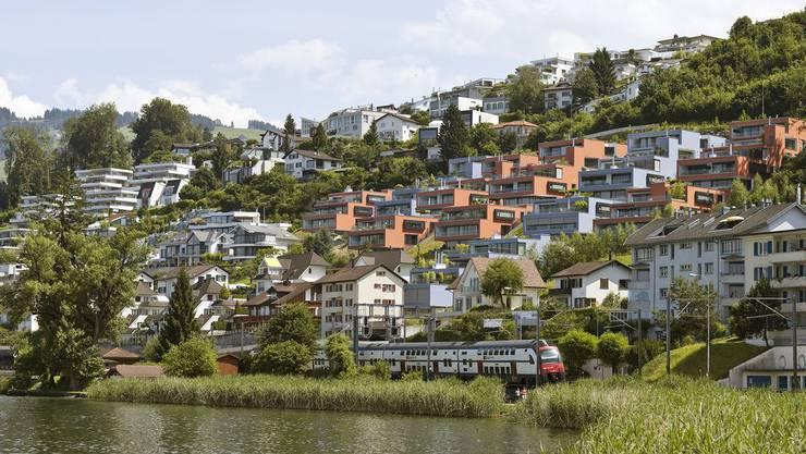 Das steuergünstige Bäch am rechten Zürichsee-Ufer.
