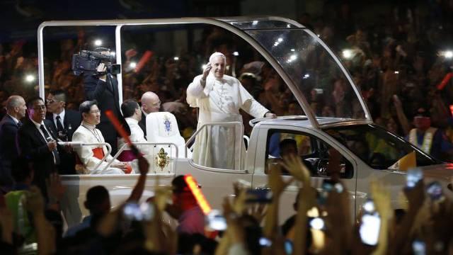 Heimspiel auf den Philippinen: Papst Franziskus in Manila