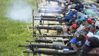 Die Schützen wehren sich gegen die Verschärfung des Waffenrechts. Sie haben erfolgreich das Referendum gegen die Vorlage ergriffen. Auch die Steuervorlage kommt an die Urne. (Archivbild)