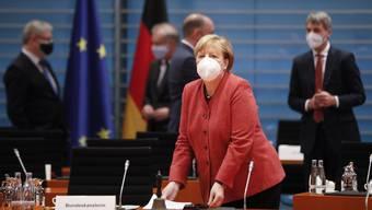 Besorgt über die Coronazahlen der südlichen Nachbarn: Deutschlands Kanzlerin Angela Merkel.