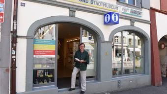 Peter Graf ist Dreh- und Angelpunkt an der Rathausstrasse 30.