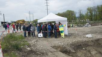 Tag der offenen Emme-Baustelle in Biberst