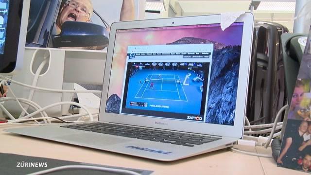 Zürich im Tennisfieber