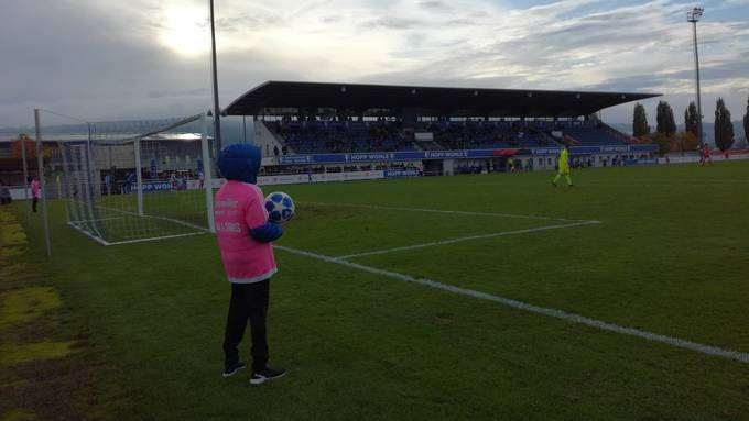 Stadion Niedermatten: Hier kommt es zum Duell zwischen dem FC Wohlen und dem FC Baden.