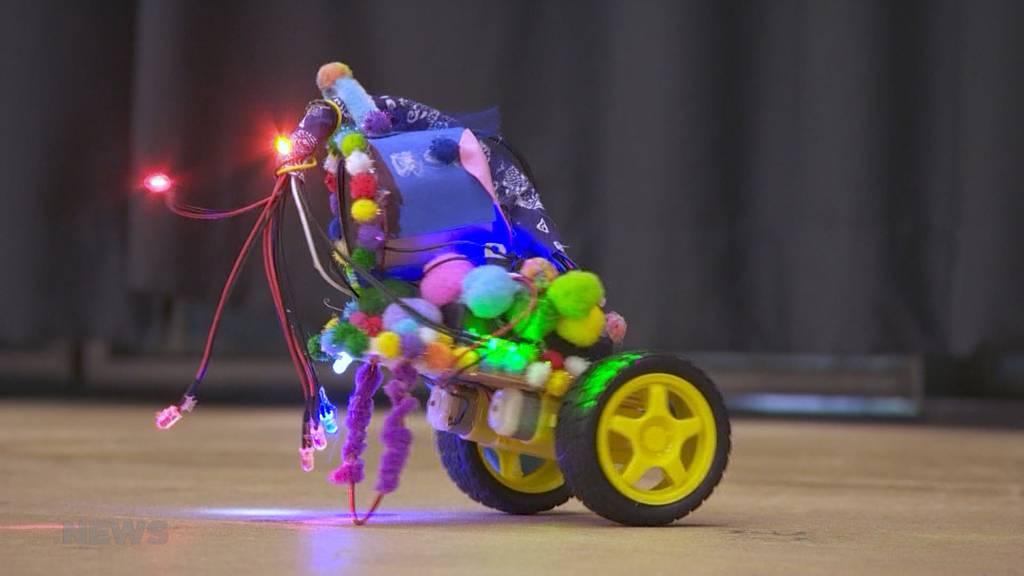 Begeisterung für MINT-Berufe erhöhen: Kinder programmieren selbst Roboter