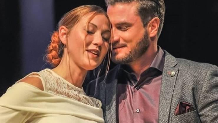 Aus und vorbei und doch nicht getrennt: Aus Bachelor Joel Herger (rechts) und seiner Ludmilla wird kein Liebespaar, befreundet wollen die beiden aber bleiben. (Instagram)
