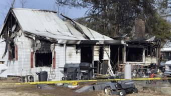 In diesem Haus starben neun Menschen