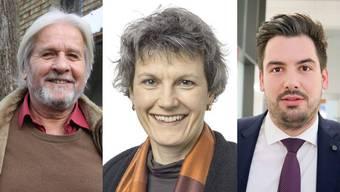 Beat Käch tritt ab. Susanne Christen Muralt und Mirco Müller treten an.