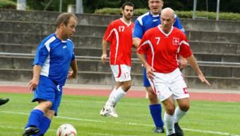 Die Schweizer Polizisten verlieren das Fussball-Spiel gegen ihre deutschen Kollegen mit 0:3