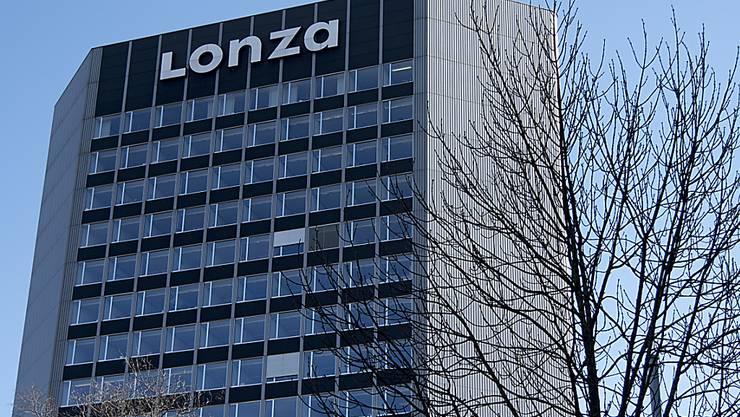 Der Hauptsitz von Lonza in Basel: Das Unternehmen hat ein erfolgreiches erstes Halbjahr hinter sich.