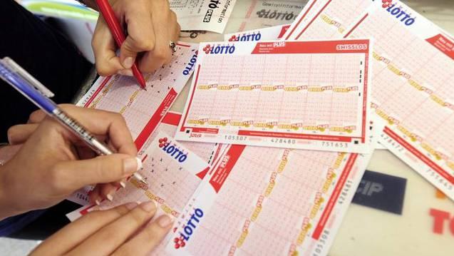m Samstag gehts im Lotto um satte 43,8 Millionen Franken. (Archiv)