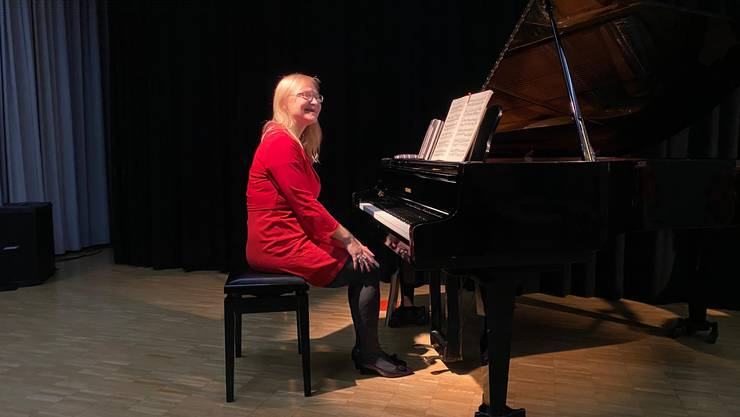 Pianistin Tina Wildi