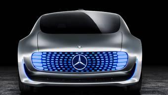 Der Mercedes Prototyp F015 ist ein selbstfahrendes Auto. Vorgestellt wurde es an der CES Technik-Messe in Las Vegas.